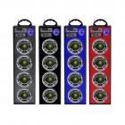 Универсальная стерео система с подсветкой BK-5555 (Bluetooth, USB, SD, FM, AUX, Karaoke)