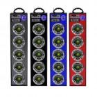 Универсальная стерео система с подсветкой BK-6666 (Bluetooth, USB, SD, FM, AUX, Karaoke)