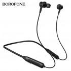 Спортивные гарнитурные наушники Borofone BE29 Joyous (Bluetooth, TF)