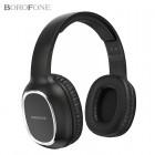 Беспроводные наушники Borofone BO09 Pearl (Bluetooth, MP3, AUX, Mic)