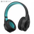 Беспроводные наушники Borofone BO10 Precious (Bluetooth, MP3, AUX, Mic)