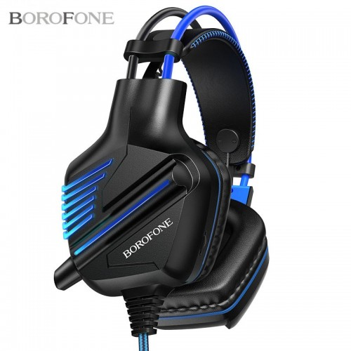Проводная компьютерная стерео гарнитура с микрофоном Borofone BO101 Racing