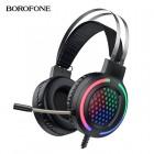Проводные игровые наушники с микрофоном Borofone ESD03