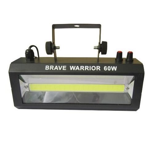 Стробоскоп Brave Warrior Strobe 60W холодный белый свет, звуковая активация