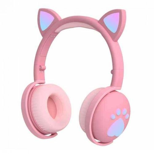 Беспроводные наушники Wireless Cat Ear Headphones BK1 (Bluetooth, MP3, AUX, Mic)