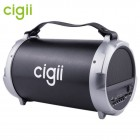 Бумбокс Cigii S12B (Bluetooth, USB, micro SD, FM, AUX, Mic)