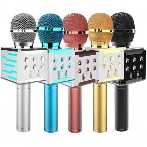 Портативный караоке микрофон с динамиком DS868 (Bluetooth, MP3, AUX, KTV)