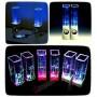 Колонки с фонтанами для ноутбука, компьютера, iPhone и смартфона Dancing Water