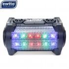 Бумбокс Ewtto ET-P5665BT (Bluetooth, USB, micro SD, FM, AUX, Mic)