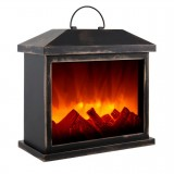 Декоративный электрический камин LED Fireplace Lantern SP-02
