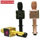 Беспроводной караоке микрофон + держатель Happyroom H59 (Bluetooth, MP3, AUX, KTV)