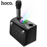 Беспроводная караоке система Hoco BS41 (Bluetooth, AUX, MP3, 1 микрофон)