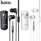 Проводные наушники с Bluetooth аудио ресивером Hoco E52 Euphony