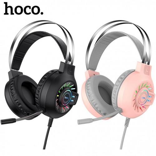 Проводная компьютерная стерео гарнитура с микрофоном Hoco ESD04