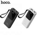 Внешний аккумулятор 10000 mAh Hoco J41 Treasure (2 USB, Micro USB, Type C, Lightning)