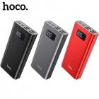Внешний аккумулятор 20000 mAh Hoco J46A Star Ocean (4 USB, Micro USB, Type C, Lightning 5V-2A)