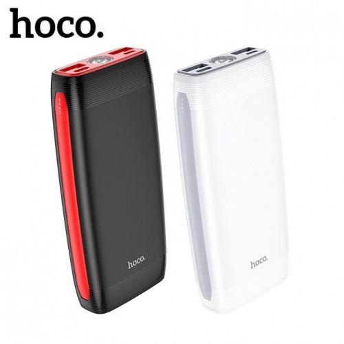 Универсальное зарядное устройство Power Bank Hoco J64 10000 mAh, фонарик