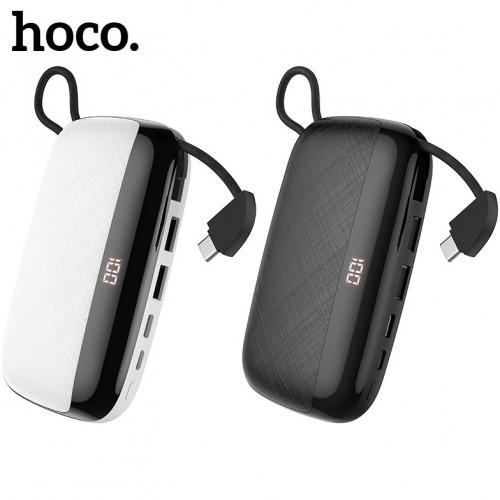 Универсальное зарядное устройство с функцией подставки Hoco S29 10000 mAh, LED дисплей
