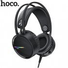 Проводные игровые наушники с микрофоном Hoco W100 Touring