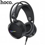 Проводные игровые наушники с микрофоном Hoco W100