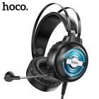 Проводные игровые наушники с микрофоном Hoco W101 Streamer