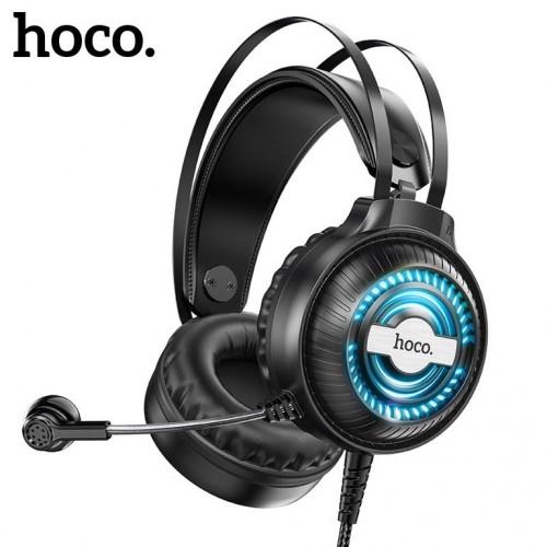 Проводная компьютерная стерео гарнитура с микрофоном Hoco W101 Streamer