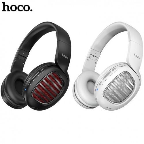 Bluetooth стерео-наушники Hoco W23 Brilliant Sound (Bluetooth, MP3, AUX, Mic)