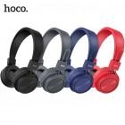 Беспроводные наушники Hoco W25 Promise (Bluetooth, MP3, AUX, Mic)