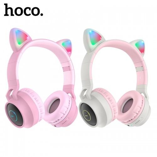 Bluetooth стерео-наушники Hoco W27 (Bluetooth, MP3, AUX, Mic)
