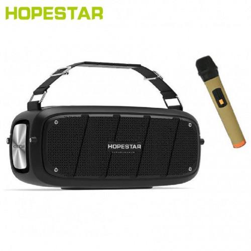 Портативная акустическая стерео колонка с микрофоном Hopestar A20 Pro (Bluetooth, TWS, MP3, AUX, Mic)