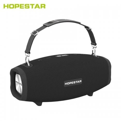 Портативная акустическая стерео колонка Hopestar A41 (Bluetooth, TWS, FM, MP3, AUX, Mic)