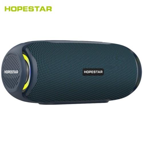 Портативная акустическая стерео колонка Hopestar H48 (Bluetooth, MP3, FM, AUX, Mic, LED)