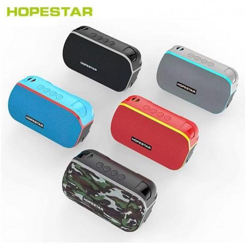 Портативная влагозащищенная стерео колонка Hopestar T6 Mini (Bluetooth, MP3, AUX, Mic)