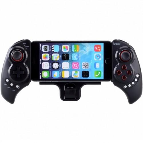 Игровой джойстик Bluetooth с держателем для смартфона и планшета Ipega PG-9023