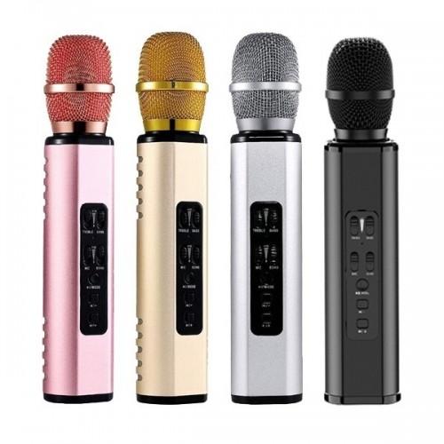 Мобильный Караоке Микрофон Avimax K6 (Bluetooth, microSD, AUX)
