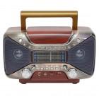 Портативная Ретро колонка - радиоприемник Kemai MD-102BT (Bluetooth, USB, SD, FM, AUX)