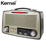 Портативная Ретро акустика Kemai MD-1700BT (USB, SD, FM, AUX)