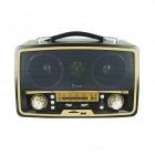 Портативная Ретро акустика Kemai MD-1701U (USB, SD, FM, AUX)
