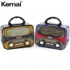 Портативная Ретро колонка - радиоприемник Kemai MD-1903BT (Bluetooth, USB, SD, FM, AUX)