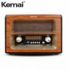 Портативная Ретро колонка - радиоприемник Kemai MD-1910 BT (Bluetooth, USB, SD, FM, AUX)