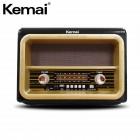Портативная Ретро колонка - радиоприемник Kemai MD-1911 BT (Bluetooth, USB, SD, FM, AUX)