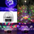 Дискошар многорежимный LED Flower Magic Ball Light с дисплеем