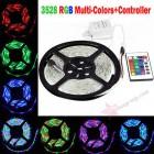 RGB светодиодная лента SMD 3528 - 5м (комплект)