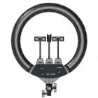 Большая кольцевая лампа LED Ring SLP-G500 (45 см) на стойке-штативе