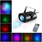 Светодиодный проектор водной ряби LED Water Ripples Light, цветной (с пультом)