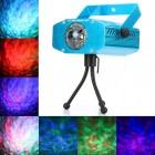 Светодиодный проектор воды LED Water Ripples Light, цветной RGB (без пульта)