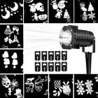 Светодиодный проектор LED 10 Pattern Projector белый, 10 слайдов, влагозащищенный