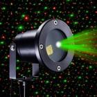 Лазерный проектор Christmas Garden Laser Light, влагозащищенный с пультом и датчиком света