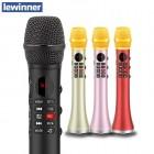 Беспроводной караоке микрофон Lewinner L-699 (Bluetooth, FM, MP3, REC, KTV, TWS)