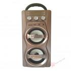 Мобильная акустическая стерео-система MS-46 BT (Bluetooth, USB, SD, FM, AUX)
